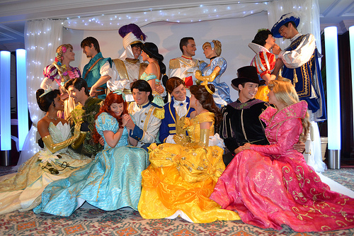 Disney Princes and Princesses
