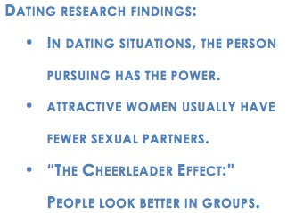 Dating research findings.